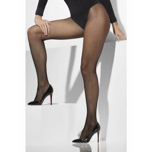 Fever Fishnet Tights Black Extra Large