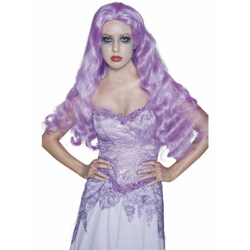 Gothic Manor Bride Wig Long Wavy