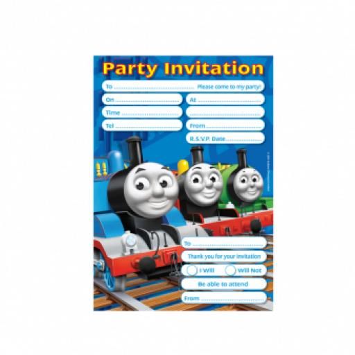 Thomas & Friends Invitations & Envelopes 20set