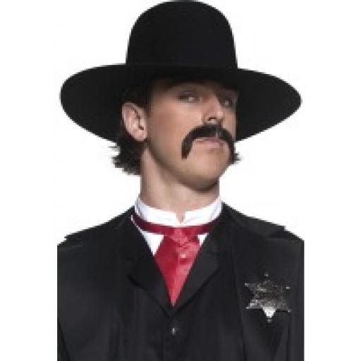 Authentic Western Sheriff Hat Black