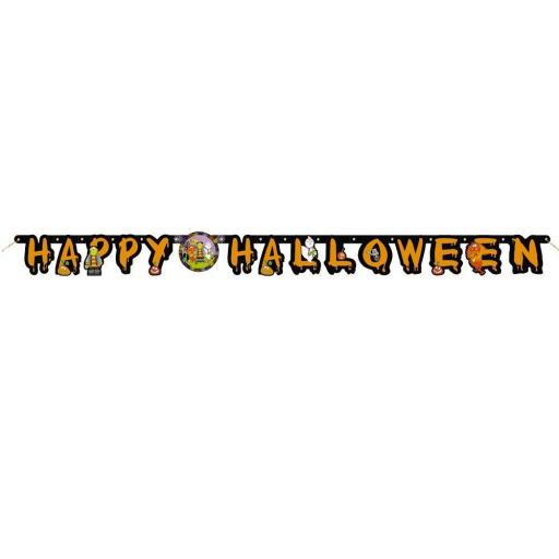 Little Monsters Halloween Banner