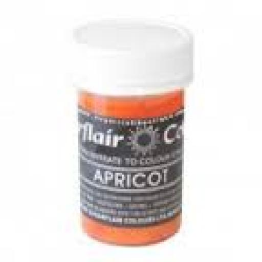Sugarflair Pastel Paste Apricot 25g Food Colour