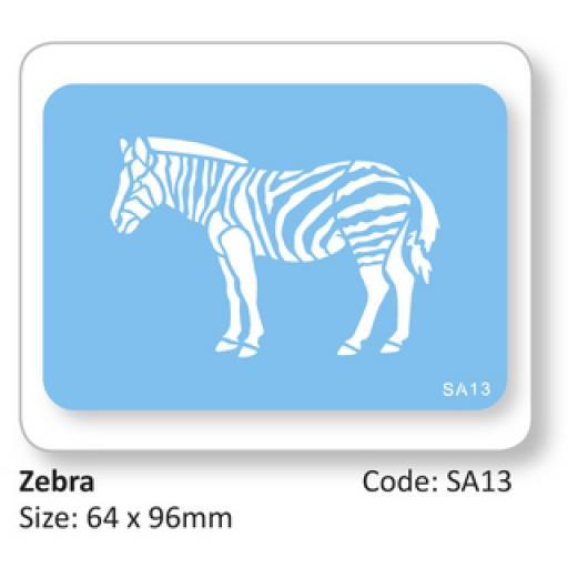 JEM Zebra Full Body Stencil