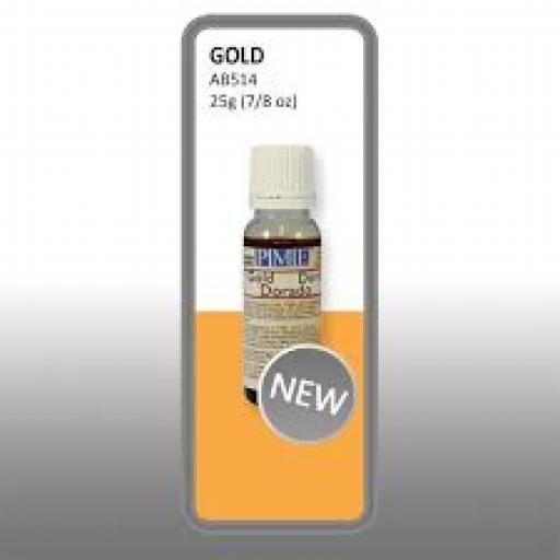 PME Airbrush Colours Gold 25g