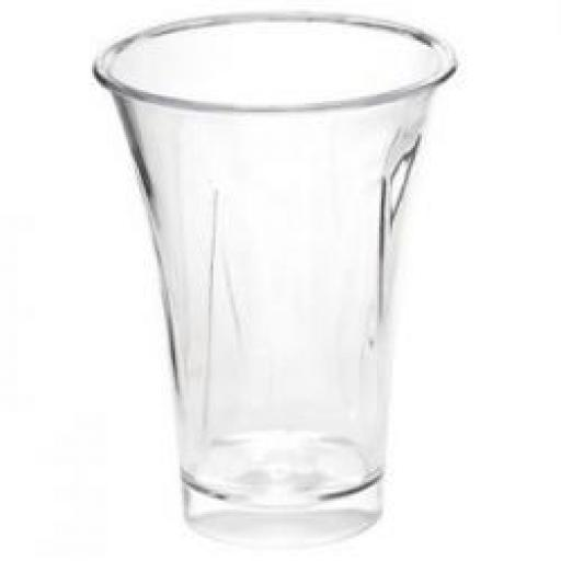 Mini Ware Clear Trumpet Cup 10ct