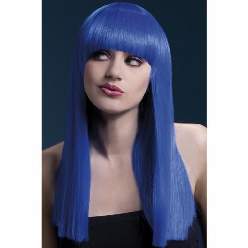 Fever Alexia Wig Neon Blue