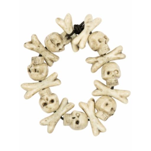 Skull Bones Bracelet