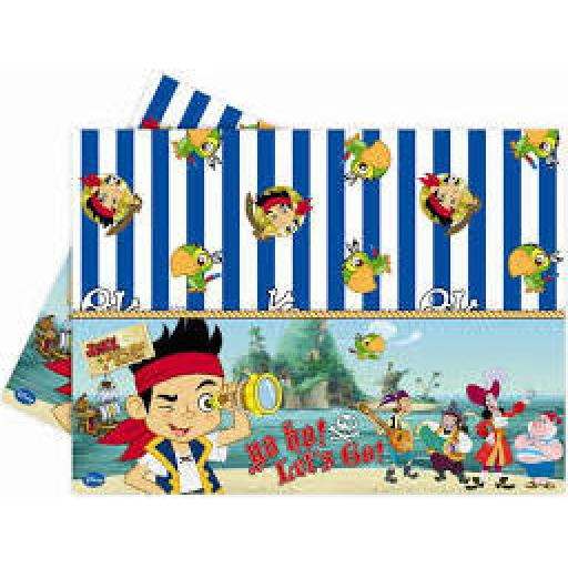 Jake and the Neverland Pirates Plastic Tablecover