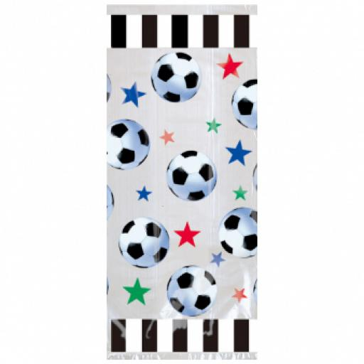Championship Soccer Large Party Bags 20pcs 11 inches long