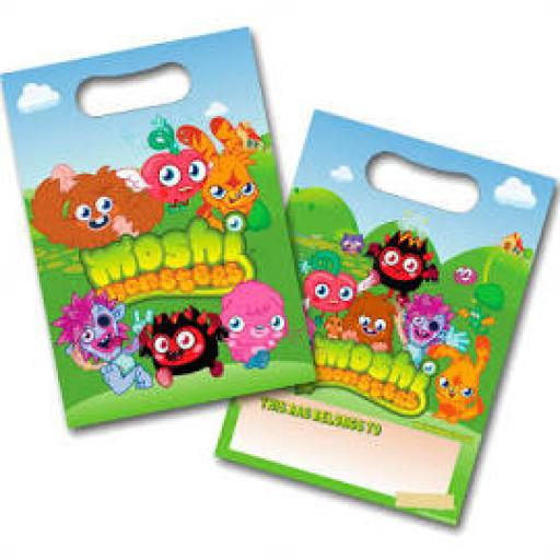 Moshi Monsters 8 Loot Bags