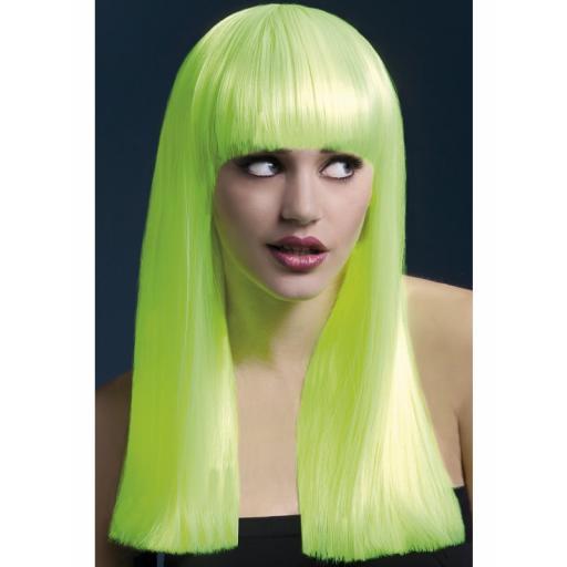 Fever Alexia Wig Neon Yellow