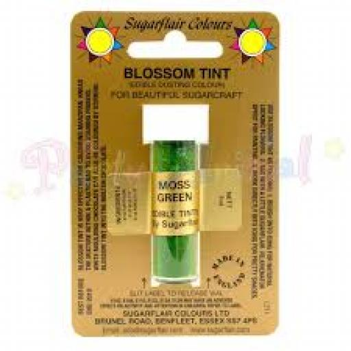 Sugarflair Blossom Tint Moss Green 7 ml