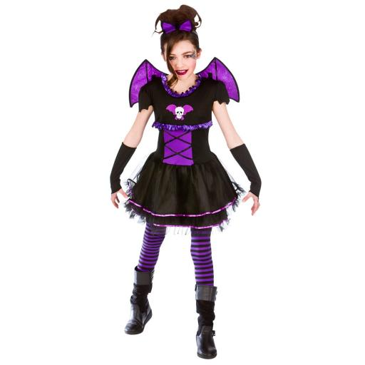 Batty Balerina Kids Costume