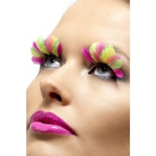 EYELASHES NEON FEATHERS INC GLUE