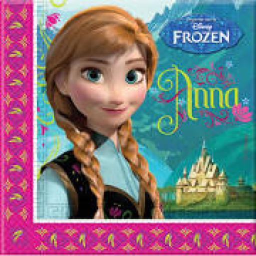 Frozen Luncheon Napkins 20pcs