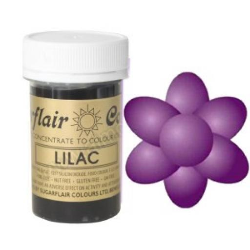 Sugarflair Lilac Paste Colour 25g