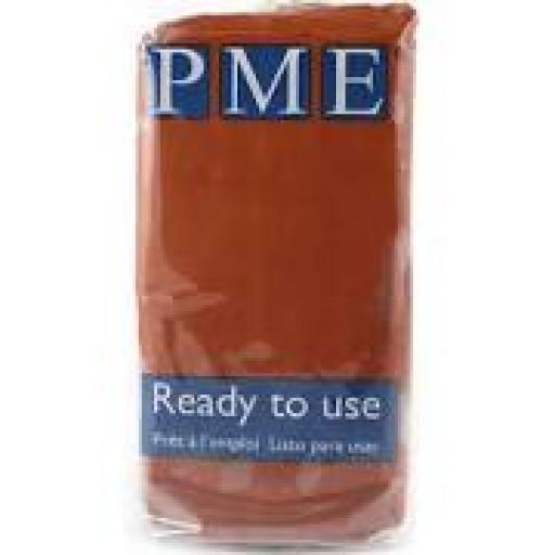 PME Teddbear Brown Sug Paste 250g Ready To Use