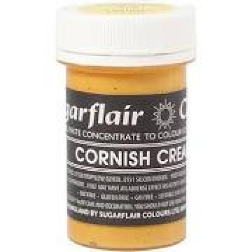 Sugarflair Pastel Paste Cornish Cream Food Colour