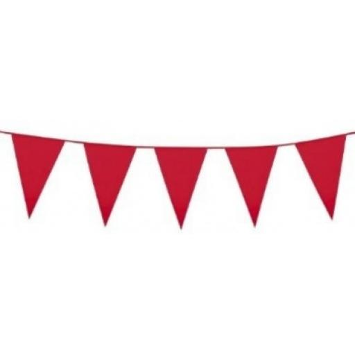 PE Giant Bunting Red 10 m