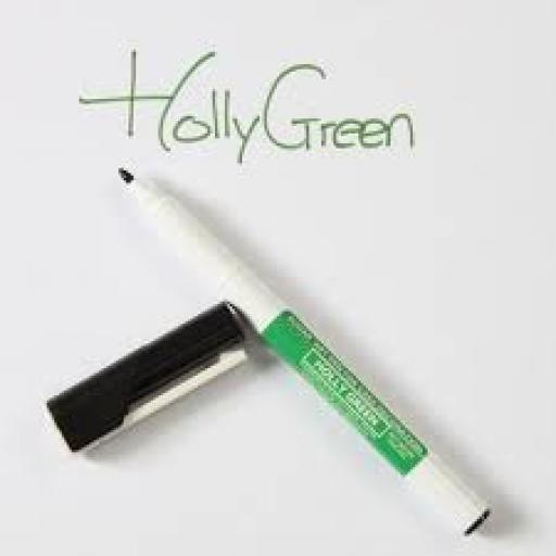 Sugar Art Pen Holly Green For Cake Decorating