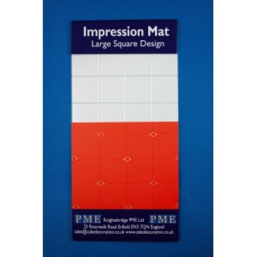 PME Impression Mat- Large Square Design