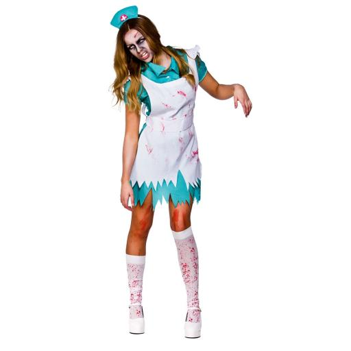 Bloodthirsty Zombie Nurse Adult Costume