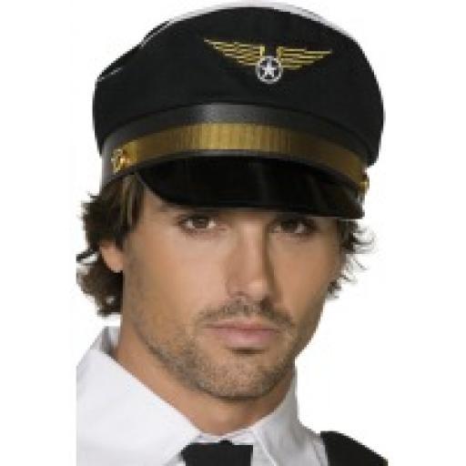 Pilots Cap, Black