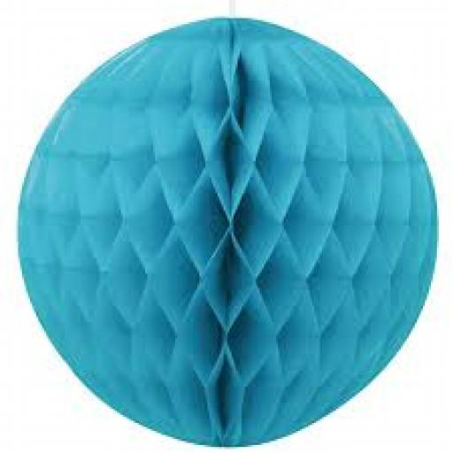 Honeycomb Ball 8inch Aqua