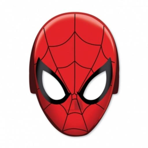 Spider-Man Paper Mask 8pcs