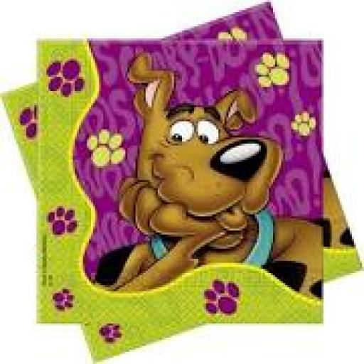 Scooby-Doo Lunch Napkins 20 33x33cm