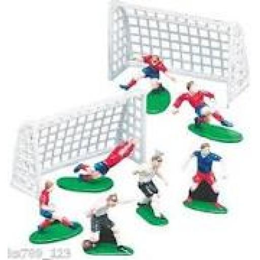 Soccer Cake Decorations 9pcs