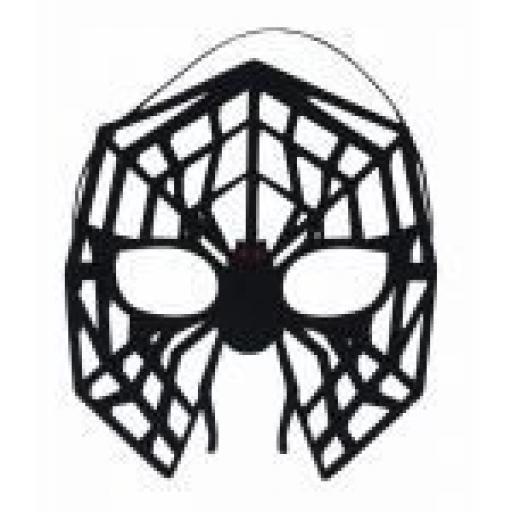 Black Spider Mask Felt