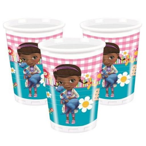 Doc McStuffins Plastic cups 200ml 8pcs