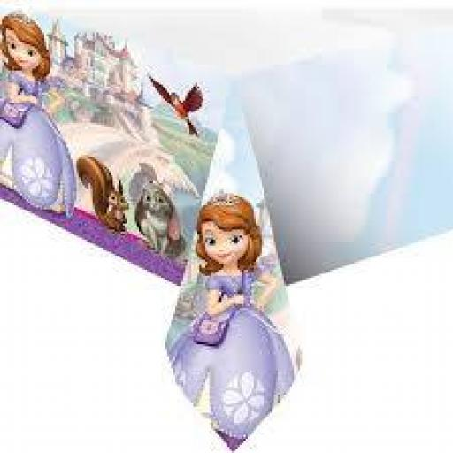 Sofia The First Plastic Table Cover 120x180cm