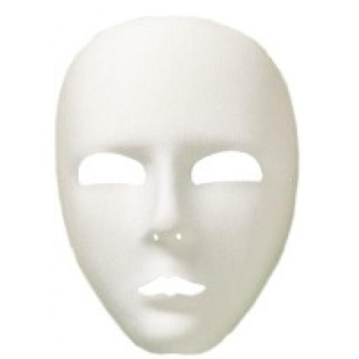 Viso Full Face Eyemask White