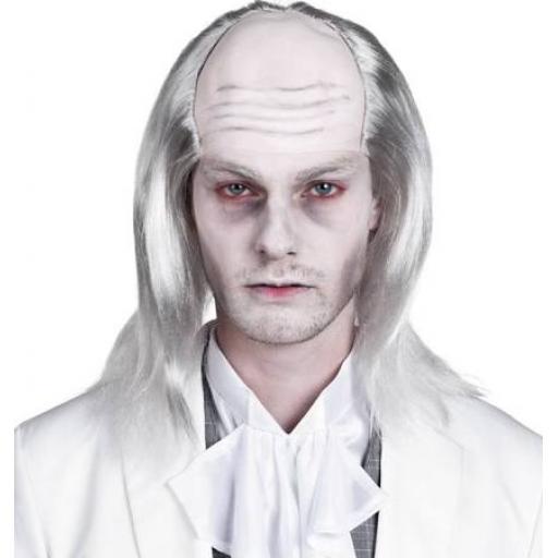 White Zombie Wig