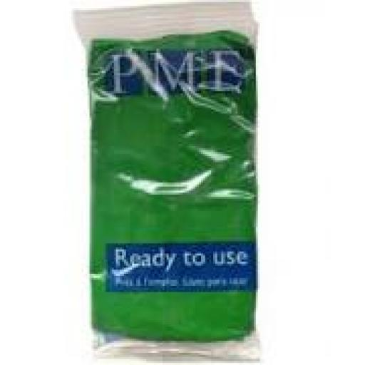 PME Pea Green Sug Paste 250g Ready To Use