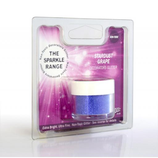 Sparkle Range Stardust Grape Decorators Glitter