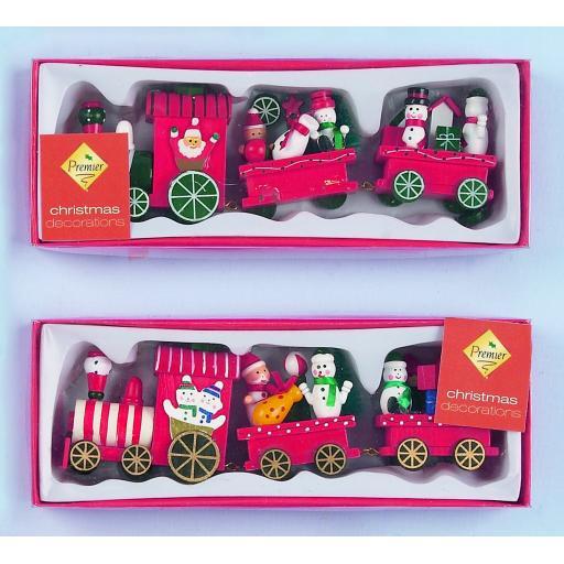 3 Piece Wood Train