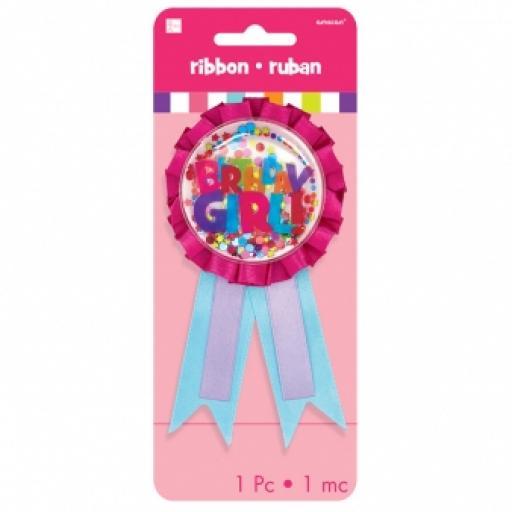 Hot Spot Birthday Gir Award Ribbons Confetti Pouch