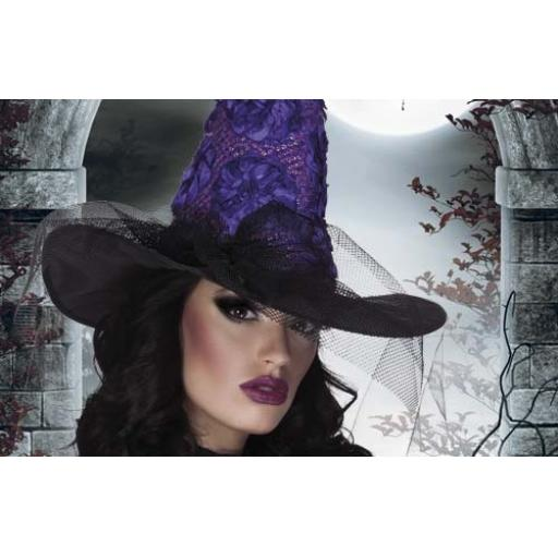 Anemona Witchs Hat Purple