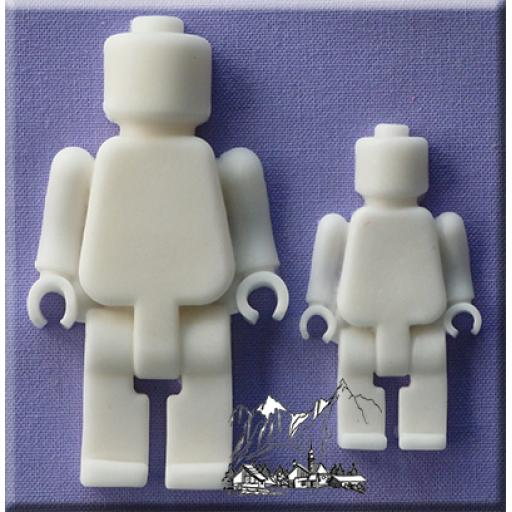Mould Brick Men By Alphabet Moulds