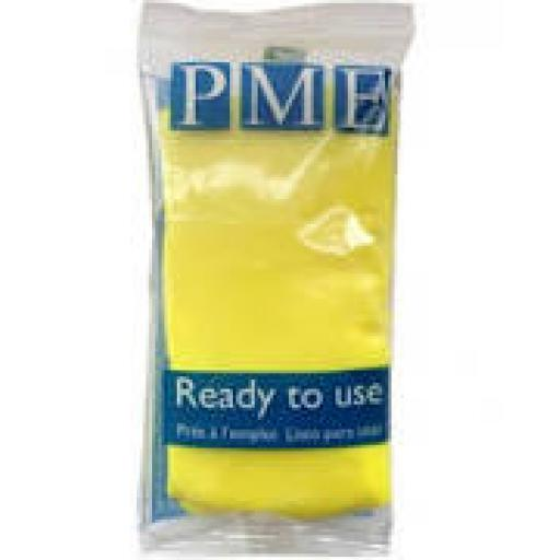 PME Sunny Yellow Sug Paste 250g Ready To Use