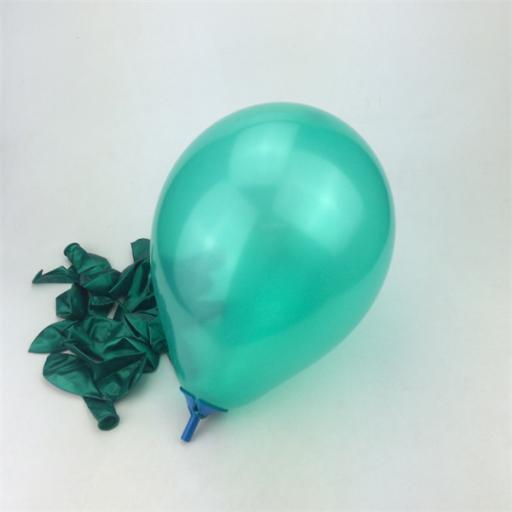 Met Turquoise 12inch Latex Balloon 50pcs