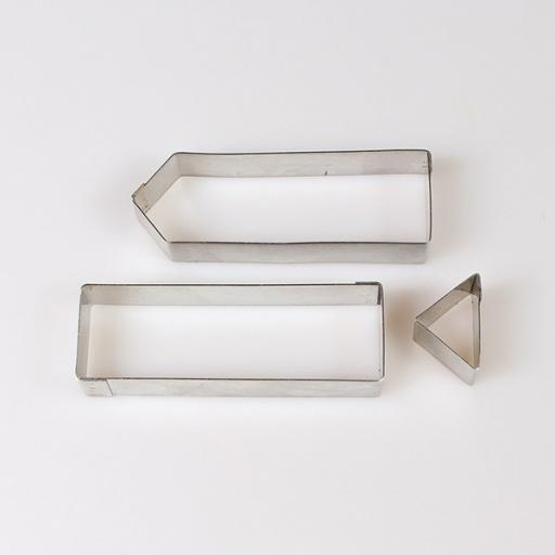 Stainless Steel Cutters Sign Post 3pcs