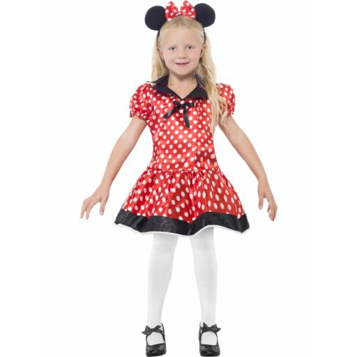 Cute Mouse Costume Dress Belt Headband