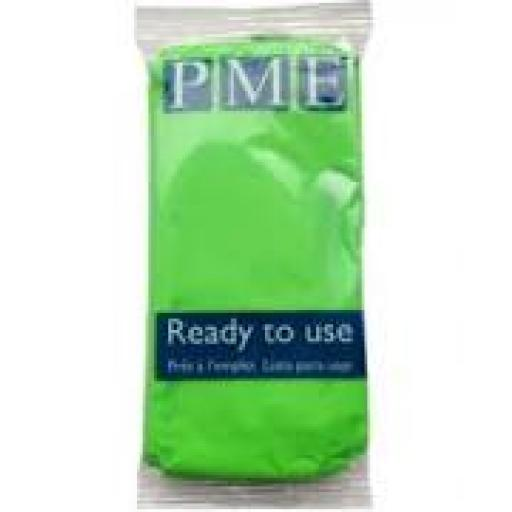 PME Lime Crush Sugarpaste 250g Ready To Use