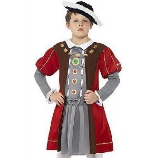 Terrible Tudors Henry VIII Tunic & Hat