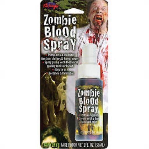 Zombie Blood Spray 2 oz Bottle
