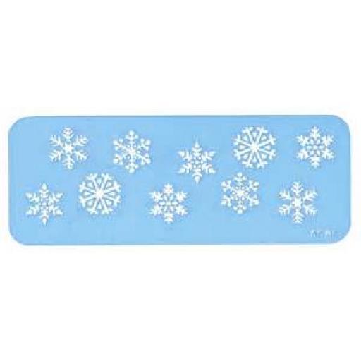 Snowflakes Stencil
